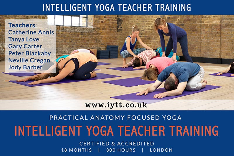 Intelligent, Yoga, BWY, British Wheel of Yoga, Teacher, Training, Course, London, Catherine Annis, 200hr, Scaravelli, 2019, 2020
