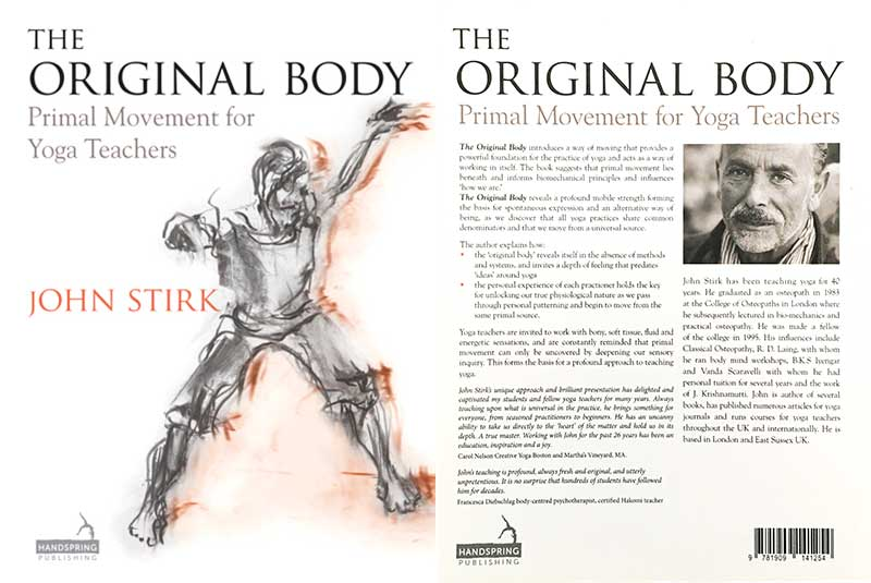 John Stirk, Original, Body, Primal, Movement, Yoga Teachers, Book