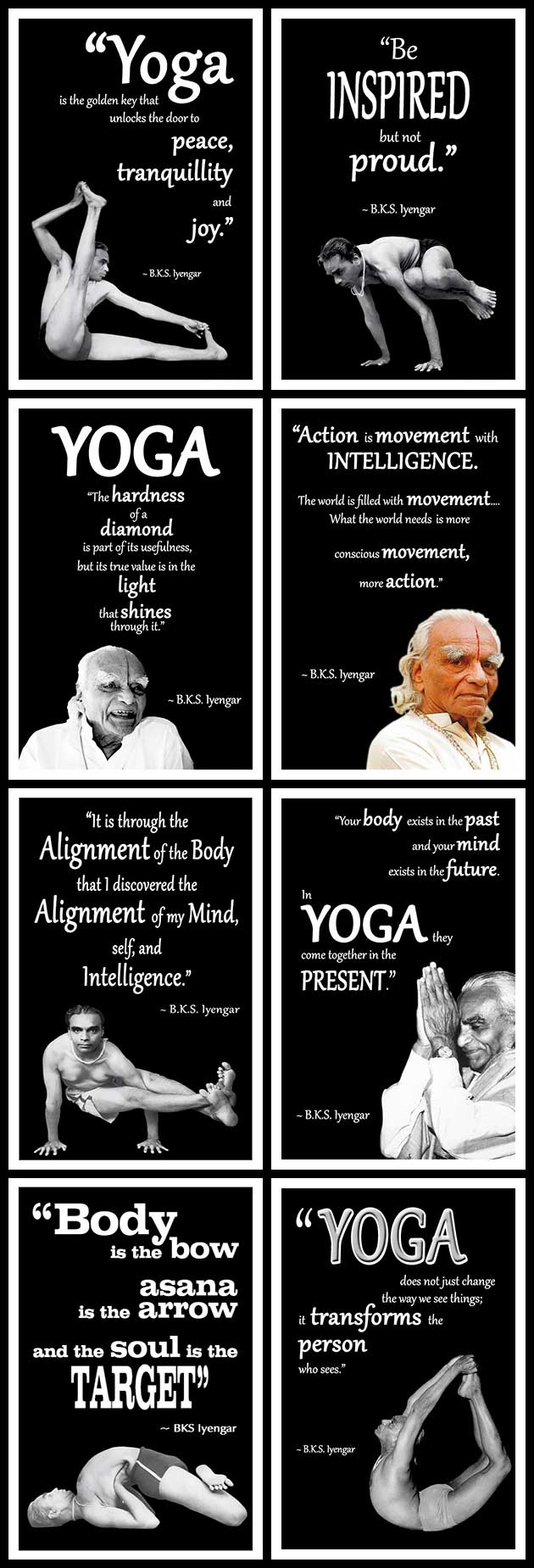 A Collection Of The Best Bks Iyengar Yoga Quotes Catherine Annis
