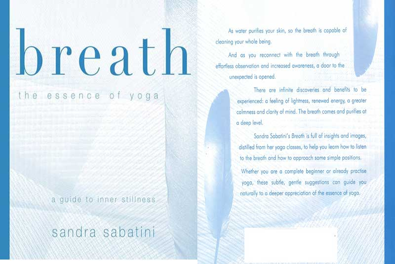Breath, Yoga, Guide, Inner, Stillness, Sandra Sabatini