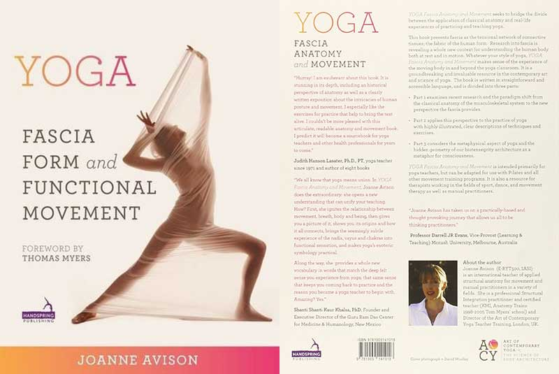 Yoga, Fascia, Anatomy, Movement, Joanne Avison
