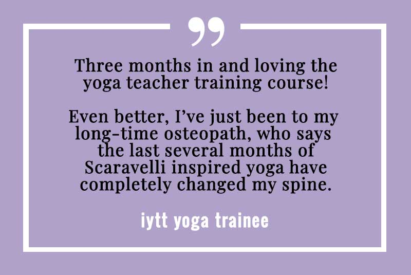 London, Yoga, BWY, Teacher, Training, Course, Testimonial, January, 2019
