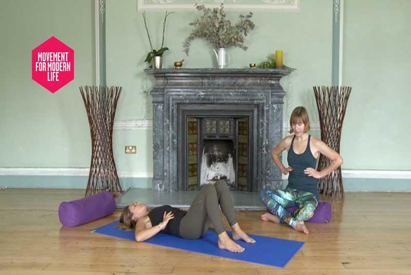 Movement, Modern, Life, MFML, Online, Yoga, Video, Scaravelli, Catherine Annis, Back, Shoulder