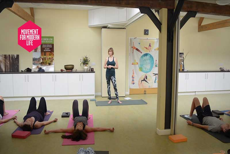 Movement, Modern, Life, MFML, On-line Yoga Class, Video, Scaravelli, Catherine Annis, Shoulder