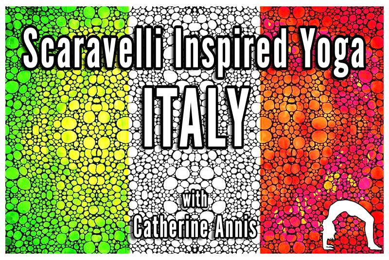 Scaravelli, Inspired, Yoga, Italy, Europe, Catherine Annis