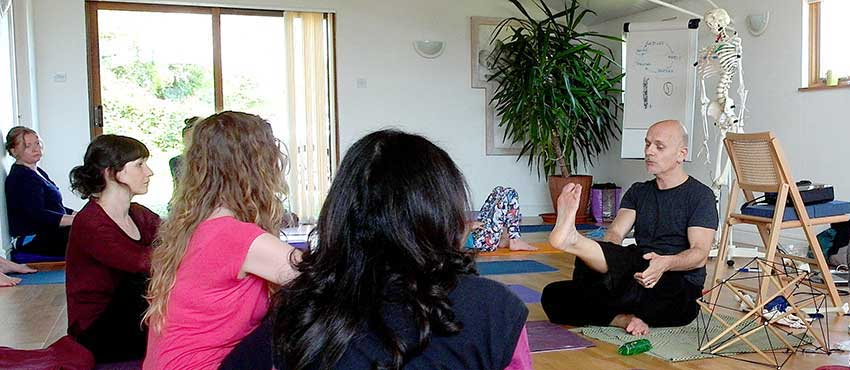 Scaravelli Yoga Immersion, Course, Gary Carter, Catherine Annis