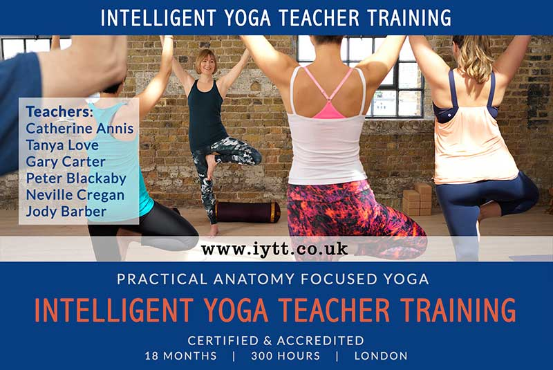 Yoga, Teacher, Training, Scaravelli, London, Course, Accredited, Certified, BWY, British Wheel, 2019, 2020, Catherine Annis