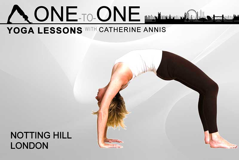 Yoga, private, class, one to one, 1 to 1, lessons, Notting Hill, London, W10