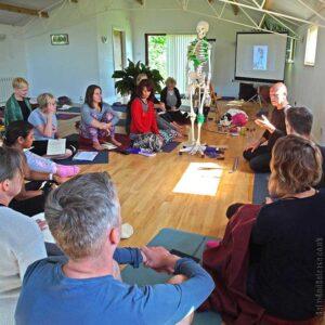 Scaravelli, Yoga, Immersion, Retreat, Fascia, Catherine Annis, 2018