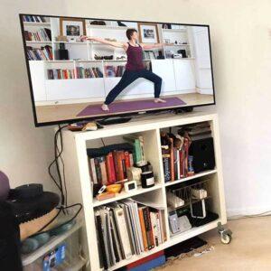 Scaravelli yoga, Catherine Annis, Zoom, Facebook, Online, Teaching