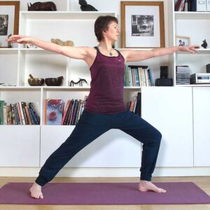 Zoom, video, Scaravelli, Catherine Annis yoga, class, teacher, live stream