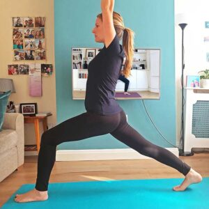 Zoom yoga classes. Scaravelli, Catherine Annisyoga, live, home, class, Facebook, live stream, hatha