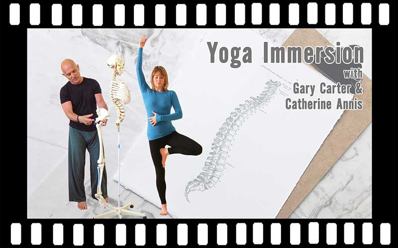 Scaravelli Inspired, Immersion, Catherine Annis Yoga, Gary Carter, 2020, video