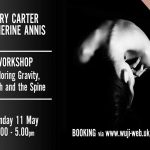 Yoga, Workshop, May, 2020, Gary Carter, Catherine Annis, Spine, Breath, Gravity, Scaravelli
