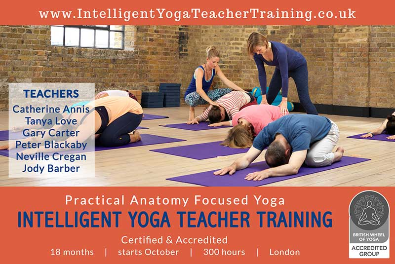 London, Yoga Teacher Training, BWY, 300, Course, UK-2020, 2021, Scaravelli, Catherine Annis, Peter Blackaby, Gary Carter