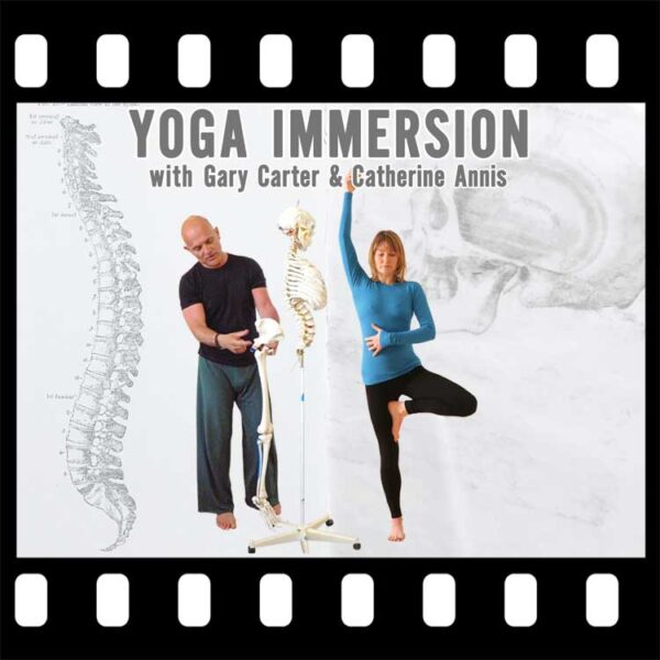 Scaravelli Inspired, Yoga, Immersion, Catherine Annis,, Gary Carter, video