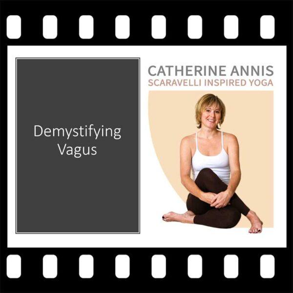 Vagus Nerve, Scaravelli Inspired, Yoga Workshop, Demystify, Catherine Annis
