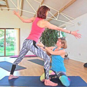 Yoga Retreat, weekend, Sussex, Scaravelli, Brighton, Eastbourne, Catherine Annis