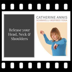 Head, Neck, Shoulders, Scaravelli Inspired Yoga, Workshop, Catherine Annis, Exmoor, Somerset