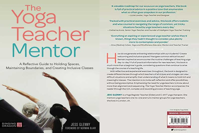 Jess Glenny, Yoga Teacher Mentor, Book