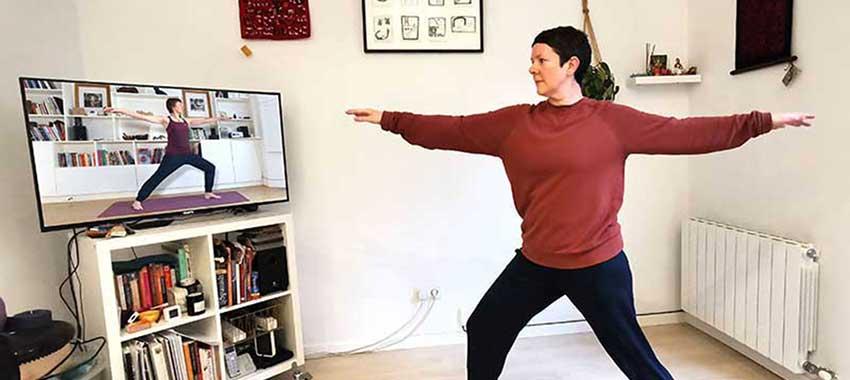 Scaravelli Online Class, Zoom, Yoga, Exmoor, Somerset, Classes, Workshop