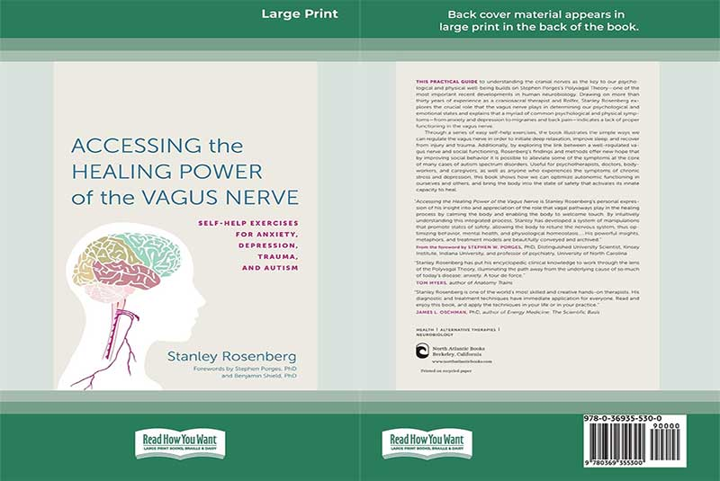 Stanley Rosenberg, Healing Power, Vagus Nerve, book