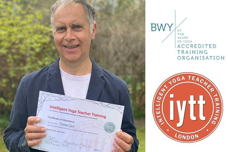 London, Yoga Teacher Training, Course, BWY Scaravelli Inspired, Certificate