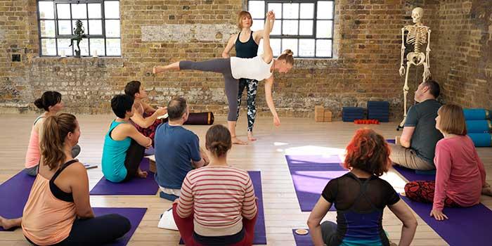 London Yoga Teacher Training, BWY Course, Scaravelli Inspired Yoga, Catherine Annis